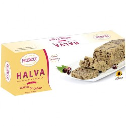 HALVAH WITH COCOA AND...