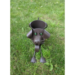 Funny Dog Planter Flower Pot