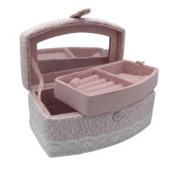 Pink Rose Jewelry Box