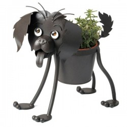 Dog Planter Flower Pot