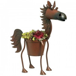 Horse Planter Flower Pot
