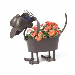 Dachshund Planter Flower Pot