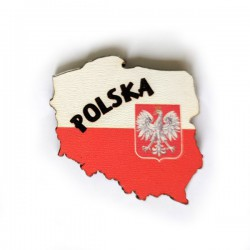 Fridge Magnet POLAND MAP