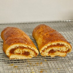 Yeast Strudel with Apricot...